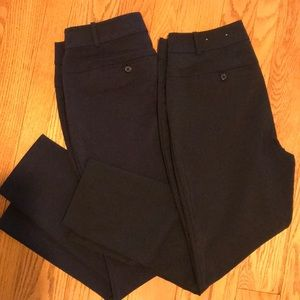 Lot of 2 Ankle length Curvy fit trousers